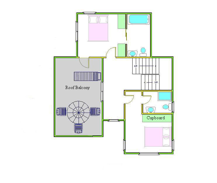 Marlborough 3 bedroom villa ground floor plan for Ground floor 3 bedroom plans
