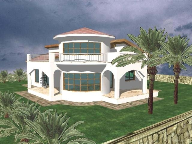 . Fantasy 4 Bedroom Tower Bungalow   South East View