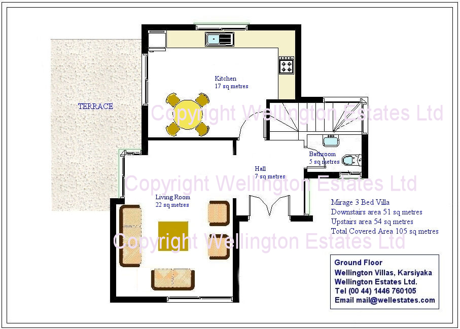 Mirage Villa Ground Floor Plan