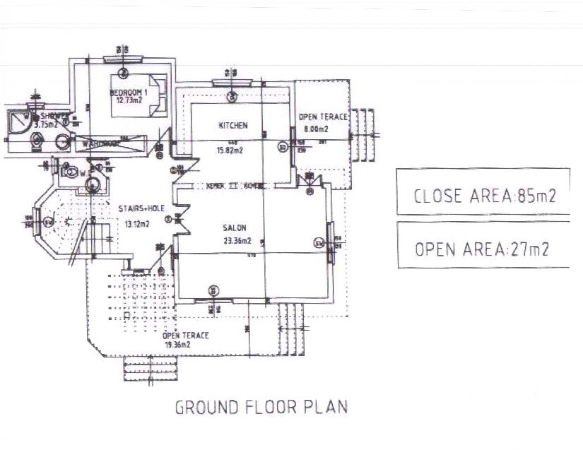 Marlborough ground floor plan Ground floor 3 bedroom plans